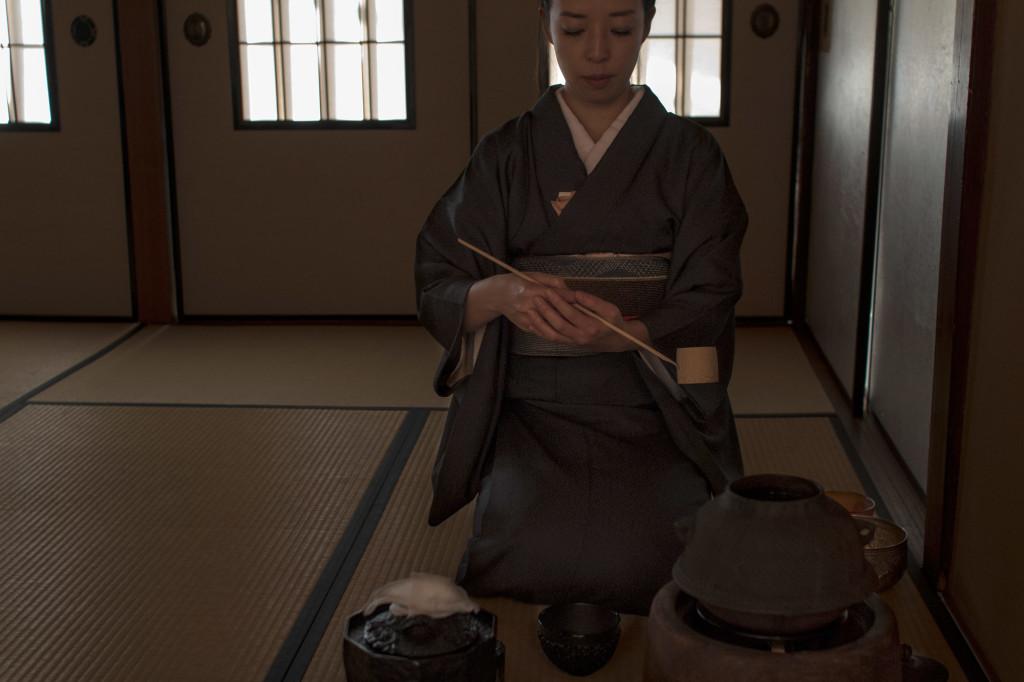 tea ceremony japan Fuyuko Kobori Kobori Enshu School of tea