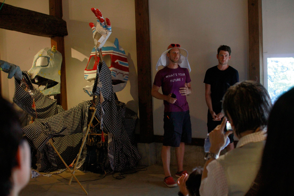 Shiro Oni Studio Art Exhibition Japan Taiko Music Festival Onishi Jimmy Kuehnle, Kjell Hahn, Isobel Knowles