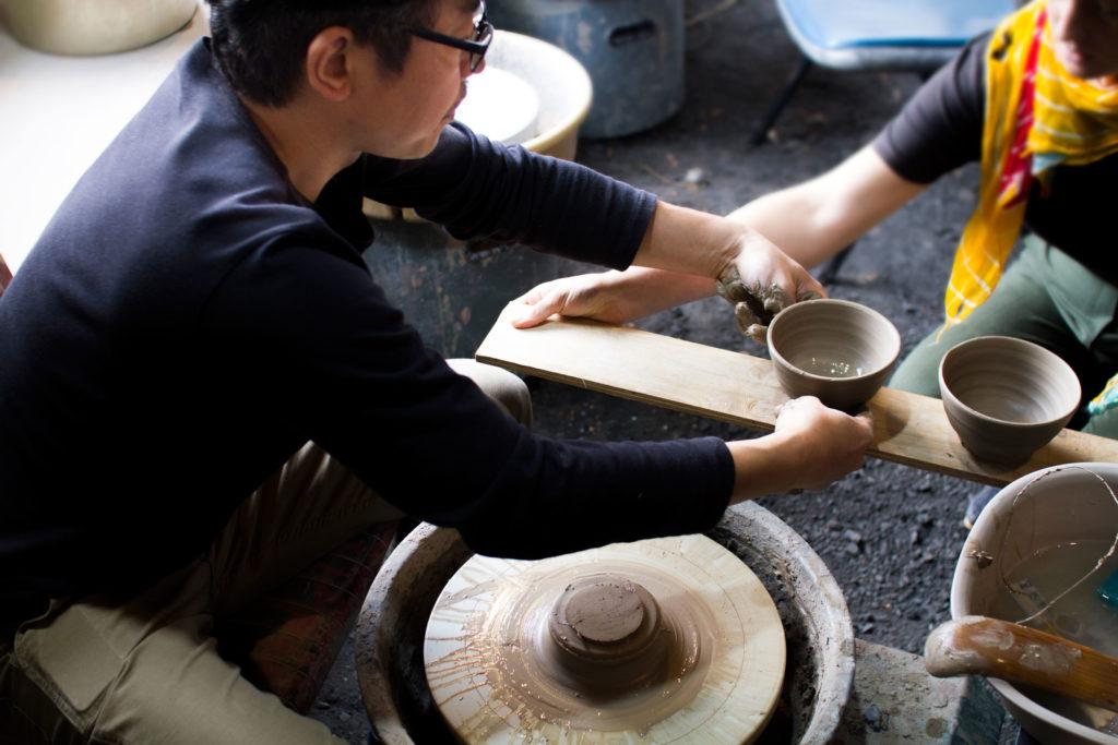 Ceramic Artist Tanaka Takeshi ceramics Workshop
