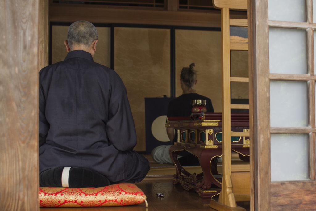 Zen Meditation Workshop at Kongoji temple in Fujioka, Japan