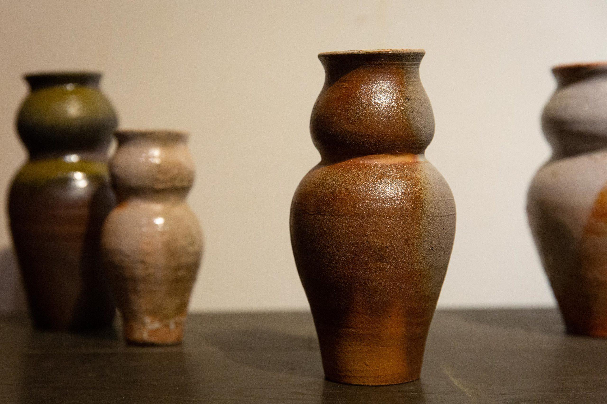 Georgie Proud ceramic art installation Shiro Oni Studio Japan