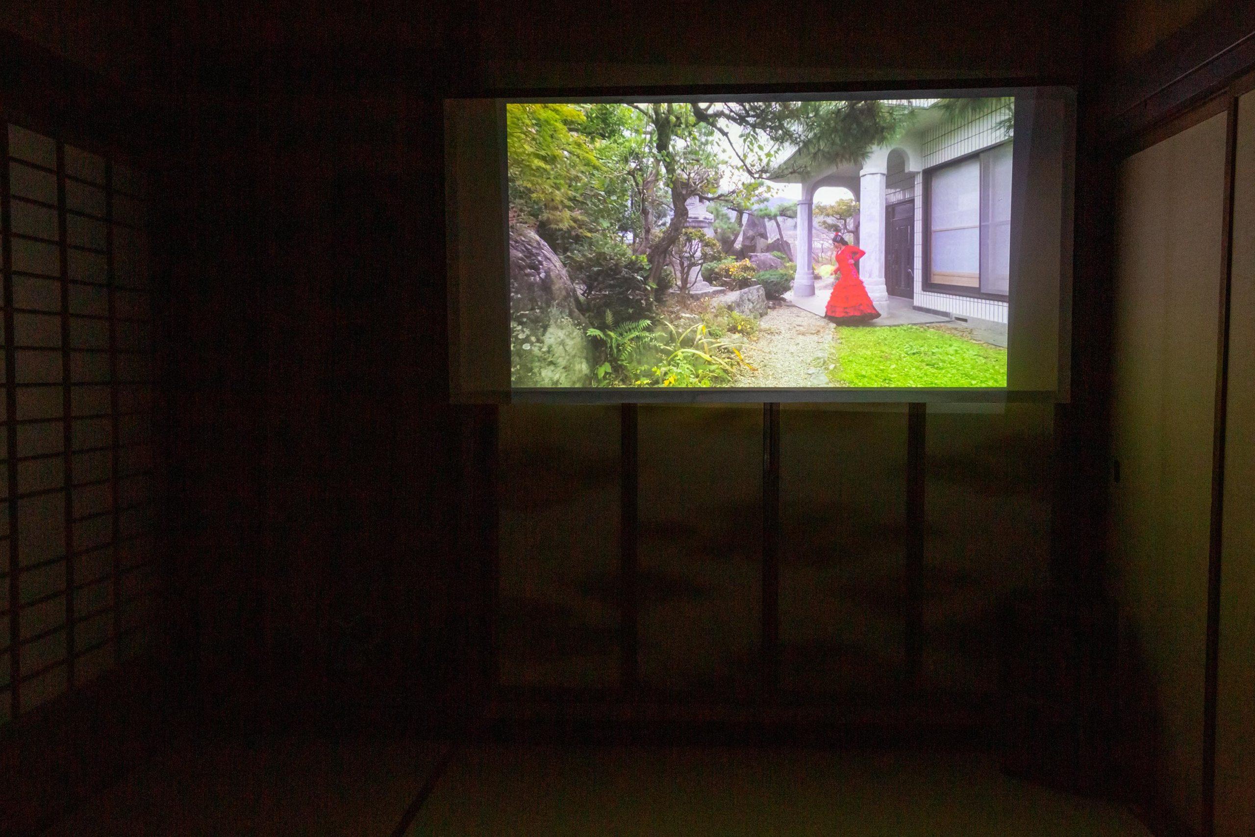 Yaara Parness flamenco-inspired film in Onishi Japan art residency exhibition